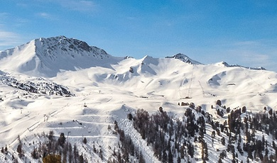the villages of la plagne : nature life